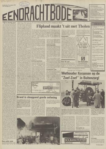 Eendrachtbode (1945-heden)/Mededeelingenblad voor het eiland Tholen (1944/45) 1979-11-15