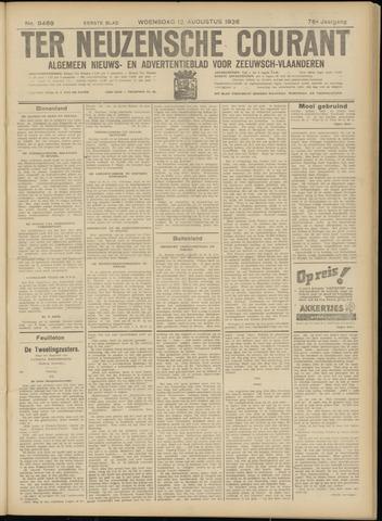 Ter Neuzensche Courant. Algemeen Nieuws- en Advertentieblad voor Zeeuwsch-Vlaanderen / Neuzensche Courant ... (idem) / (Algemeen) nieuws en advertentieblad voor Zeeuwsch-Vlaanderen 1936-08-12