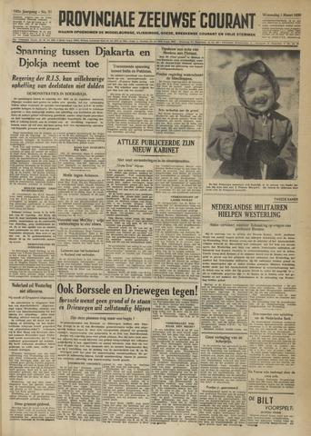Provinciale Zeeuwse Courant 1950-03-01