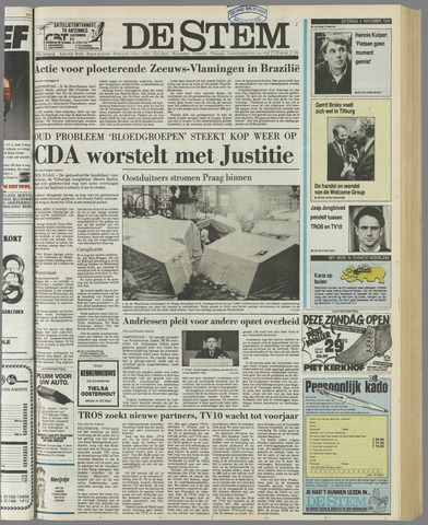 de Stem 1989-11-04