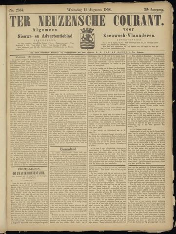 Ter Neuzensche Courant. Algemeen Nieuws- en Advertentieblad voor Zeeuwsch-Vlaanderen / Neuzensche Courant ... (idem) / (Algemeen) nieuws en advertentieblad voor Zeeuwsch-Vlaanderen 1890-08-13