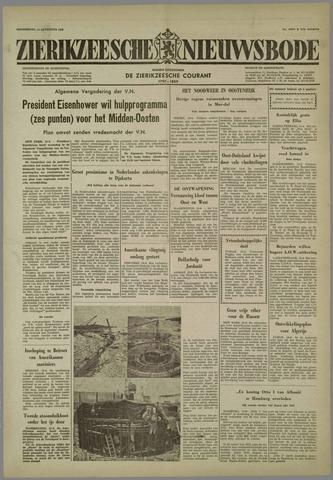 Zierikzeesche Nieuwsbode 1958-08-14
