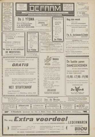 de Faam en de Faam/de Vlissinger 1961-01-27