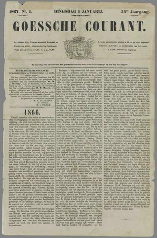 Goessche Courant 1867