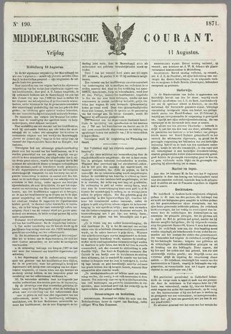 Middelburgsche Courant 1871-08-11