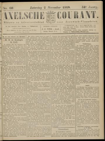 Axelsche Courant 1918-11-02