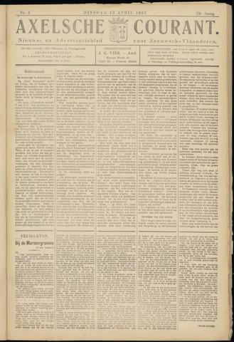 Axelsche Courant 1937-04-13
