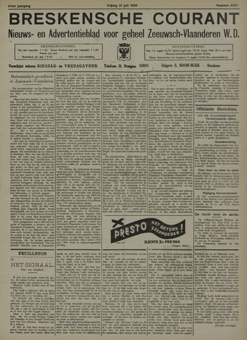 Breskensche Courant 1938-07-15