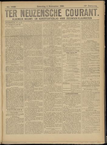 Ter Neuzensche Courant. Algemeen Nieuws- en Advertentieblad voor Zeeuwsch-Vlaanderen / Neuzensche Courant ... (idem) / (Algemeen) nieuws en advertentieblad voor Zeeuwsch-Vlaanderen 1920-11-06