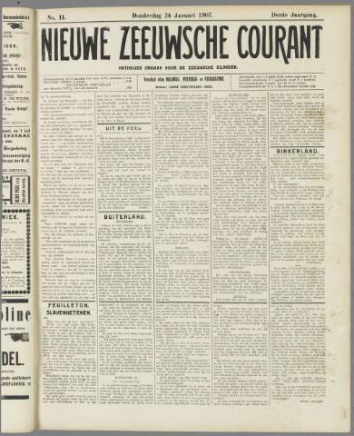 Nieuwe Zeeuwsche Courant 1907-01-24