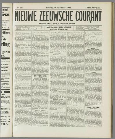 Nieuwe Zeeuwsche Courant 1908-09-29