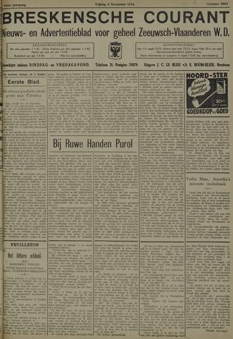 Breskensche Courant 1934-11-09