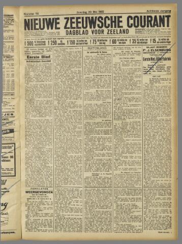 Nieuwe Zeeuwsche Courant 1922-05-20
