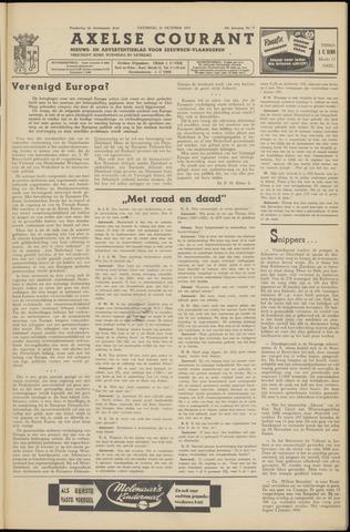 Axelsche Courant 1953-10-31