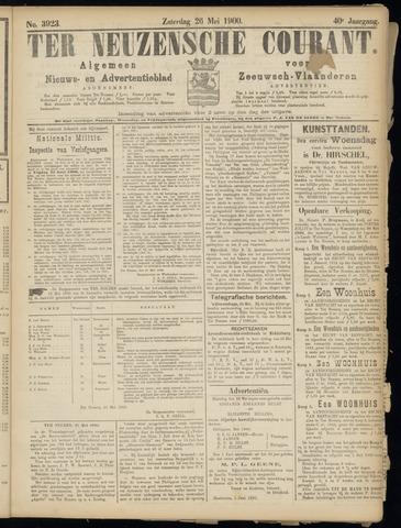 Ter Neuzensche Courant. Algemeen Nieuws- en Advertentieblad voor Zeeuwsch-Vlaanderen / Neuzensche Courant ... (idem) / (Algemeen) nieuws en advertentieblad voor Zeeuwsch-Vlaanderen 1900-05-26