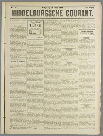 Middelburgsche Courant 1925-06-12