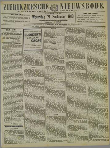Zierikzeesche Nieuwsbode 1910-09-21