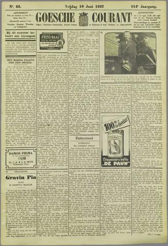 Goessche Courant 1927-06-10