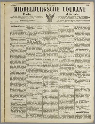 Middelburgsche Courant 1905-11-21