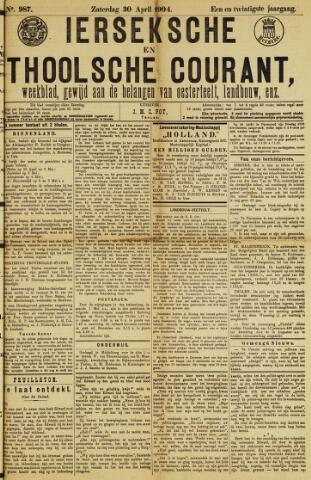 Ierseksche en Thoolsche Courant 1904-04-30