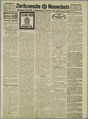 Zierikzeesche Nieuwsbode 1926-05-12