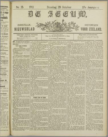 De Zeeuw. Christelijk-historisch nieuwsblad voor Zeeland 1912-10-29