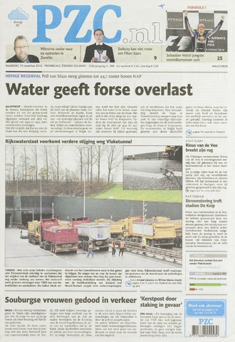 Provinciale Zeeuwse Courant 2010-11-15