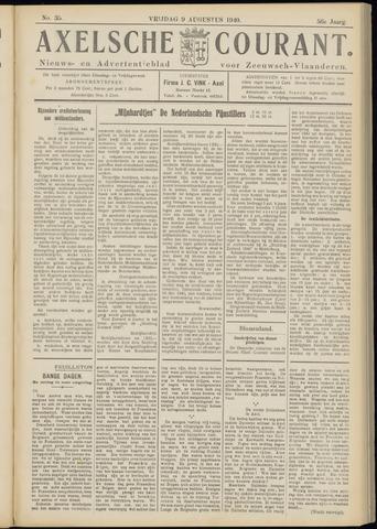 Axelsche Courant 1940-08-09