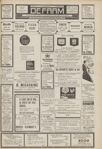 de Faam en de Faam/de Vlissinger 1961-12-29
