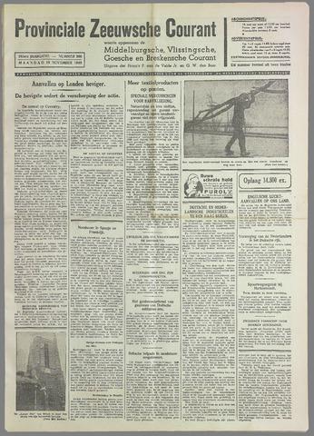 Provinciale Zeeuwse Courant 1940-11-18