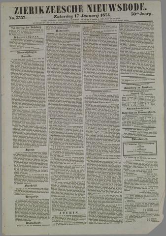 Zierikzeesche Nieuwsbode 1874-01-17