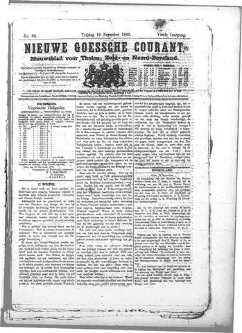 Nieuwe Goessche Courant 1869-11-19