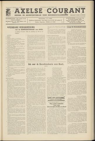 Axelsche Courant 1962-10-27