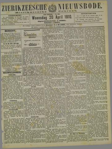 Zierikzeesche Nieuwsbode 1910-04-20