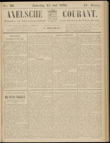Axelsche Courant 1905-07-15