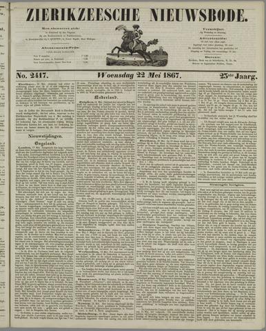 Zierikzeesche Nieuwsbode 1867-05-22