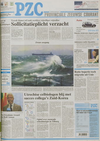 Provinciale Zeeuwse Courant 2004-02-13