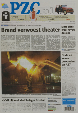 Provinciale Zeeuwse Courant 2011-12-30