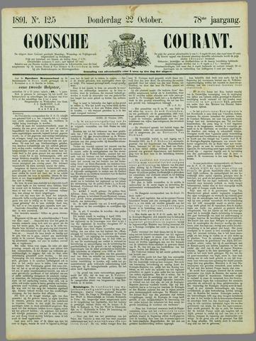 Goessche Courant 1891-10-22