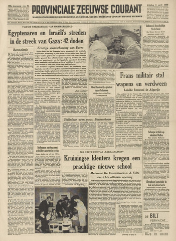 Provinciale Zeeuwse Courant 1956-04-06
