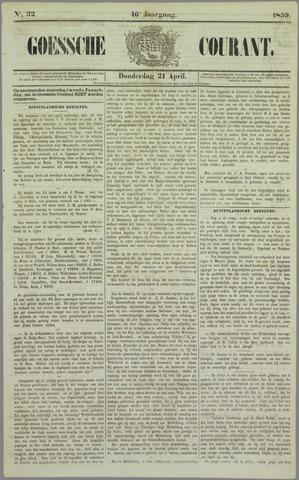 Goessche Courant 1859-04-21
