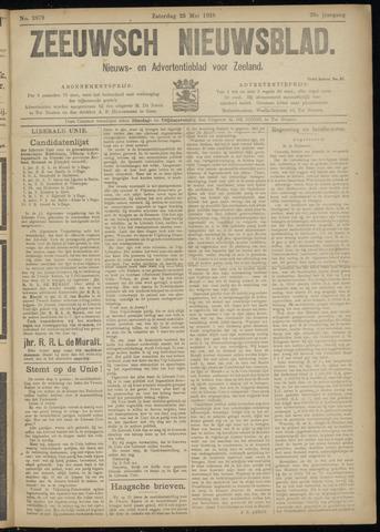 Ter Neuzensch Volksblad. Vrijzinnig nieuws- en advertentieblad voor Zeeuwsch- Vlaanderen / Zeeuwsch Nieuwsblad. Nieuws- en advertentieblad voor Zeeland 1918-05-25