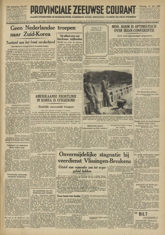 Provinciale Zeeuwse Courant 1950-07-18