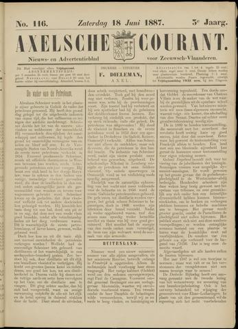 Axelsche Courant 1887-06-18