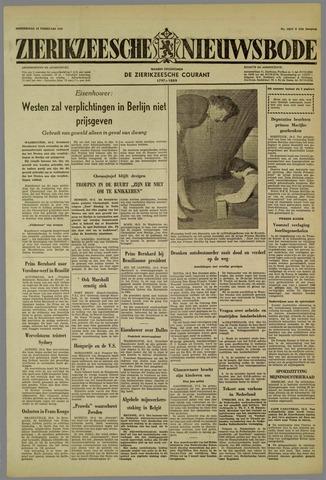 Zierikzeesche Nieuwsbode 1959-02-19