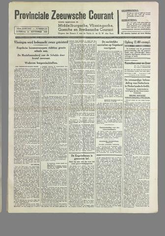 Provinciale Zeeuwse Courant 1940-09-21
