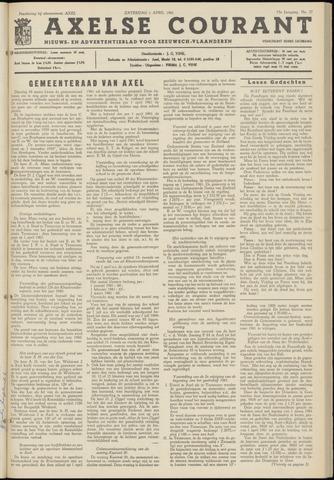Axelsche Courant 1961-04-01