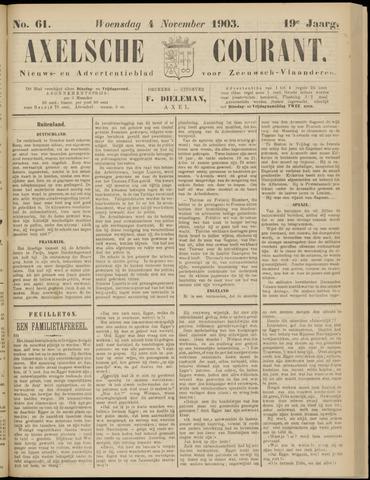 Axelsche Courant 1903-11-04