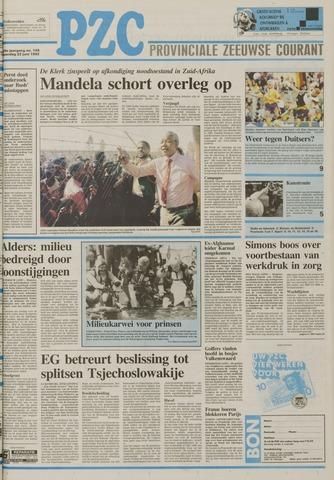 Provinciale Zeeuwse Courant 1992-06-22