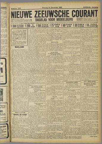 Nieuwe Zeeuwsche Courant 1922-12-19